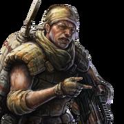 Portrait Rifleman WC