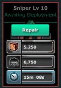 Sniper-Lv10(Barracks-Lv10)-Repair