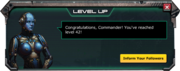 LevelUp-Lv42-Message