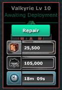 Valkyrie-Lv10(Barrack-Lv10)-Repair