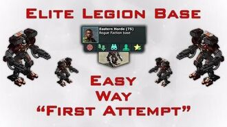War Commander Elite Legion Base Easy Way 30 Sept 2016