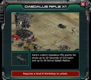 Daedalus Rifle - Event Store Description