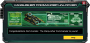 Vanquisher-Commander-UnlockMessage