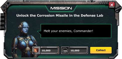 Mission-Corrosion Missile-Complete