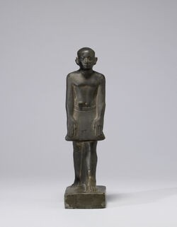 Egyptian - Standing Statuette of Sa-Hathor - Walters 2261