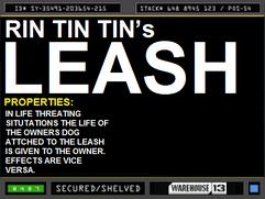 Rin Tin Tin's Leash