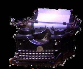 Sylvia Plath's Typewriter