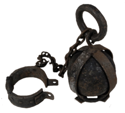 Folsom Prison Ball and Chain