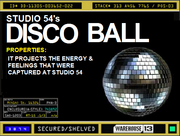 Studio 54 Disco Ball