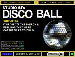 Studio 54 Disco Ball