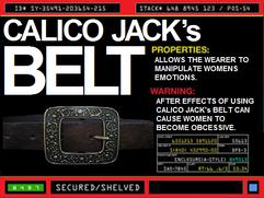 Calico Jack's Belt