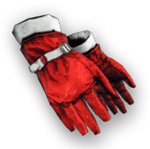 Christmas Gloves Render