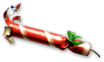 Christmas Firecracker Render