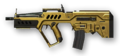 Tavor CTAR-21 Gold Render
