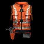 Worker's Vest Render