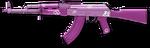 Pink skin AK-47