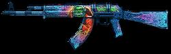 AK-103 Evil Santa Render