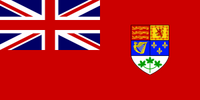 Flag of Canada 1921-1957