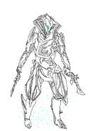 Warframe loki prime fan art sketch by shadowdragon014-d8x4vgq
