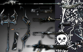 Day of the Dead Weapon Skins Pack.png