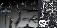 Day of the Dead Weapon Skin Pack