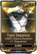 Toxic Sequence