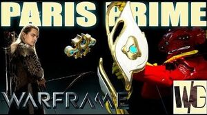 Warframe Builds - PARIS PRIME Become Legolas (1 forma) Update 16