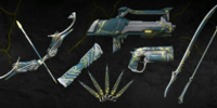 Kintsugi Weapon Skin Collection