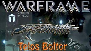 Warframe - Telos Boltor