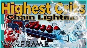 AMPREX - Red Crits Lightning Chain 5 forma - Warframe