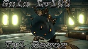 WARFRAME solo Lv 100 Tyl Regor With builds