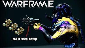 Warframw Zakti Pistol 3x Forma Setup (U21.2.0