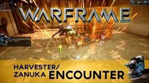 WARFRAME Harvester Encounter!
