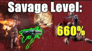 Banshee Zakti 660% SAVAGE (Warframe)