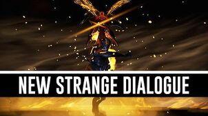 The New Strange Dialogue (Warframe)