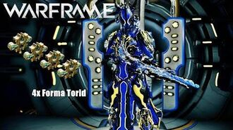Warframe Torid Setup - 4x Forma - with without Riven Mod (U21.0.9)
