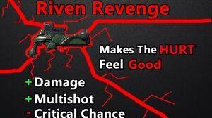 Riven Revenge Heavy Hitting Kraken Riven Mod (Warframe)