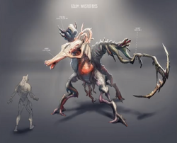 New infested boss - J3 golum
