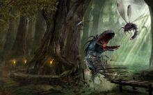Swamp creatures fantasy-1280x800