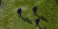 Jetpack infantry
