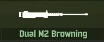 WRD Icon Dual M2 Browning