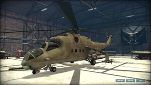 Mi-24D SideView