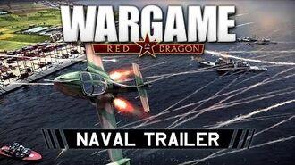 WARGAME RED DRAGON NAVAL TRAILER