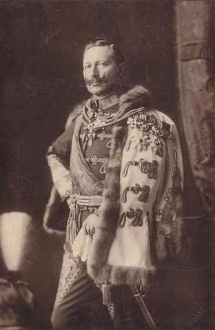 File:Wilhelm II in hussar uniform of FM of Austria-Hungary by TH Voigt 1902.JPG