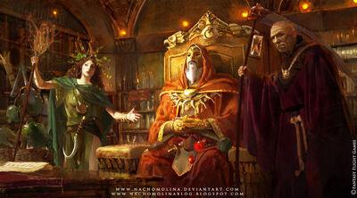 Warhammer winds of magic by nachomolina
