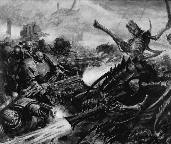 File:Death Watch Squadron agains Tiranids.jpg