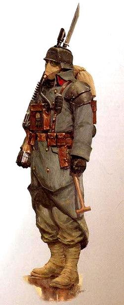 Krieg Soldat