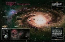Map of the Spinward Front's Galactic Location