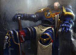 Ultramarines Commander