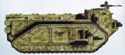 Imperial Crassus Armoured Assault Transport Side View